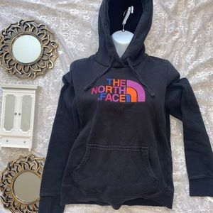 The North Face Rainbow Logo Hoodie Women's Small